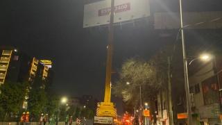 RETIRA INVEA 3 ESPECTACULARES EN BENITO JUÁREZ Y CUAUHTÉMOC